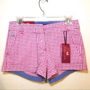NWT 🆕 Southern Marsh Gingham Pink Short 2